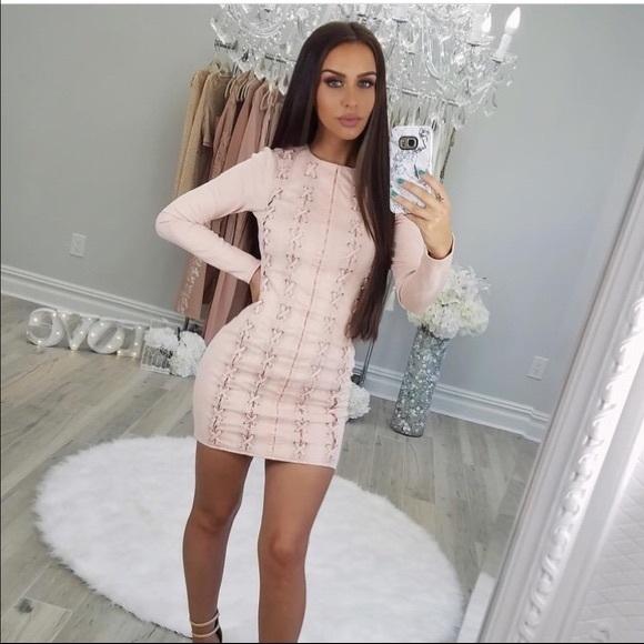a2fe65e01f671 Missguided Dresses | X Carli Bybel Faux Suede Mini Dress | Poshmark